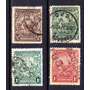 Barbados 1938* Inglaterra* Símb Realeza .e Cavalos 4.valores
