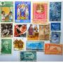 Selos Sortidos Do Mundo Todo Coleção De 15 Selos