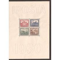 Alemanha-1930-bloco 01 Mint- Iposta- Perfeito Goma Nos Selos