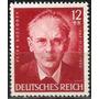 Alemanha =856 Cent. Nascimento Poeta Peter Reseggers