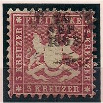 Estados Antigos Alemães, Wurtemberg Reino 26, Usado.