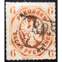 A6694 Prússia Estados Alemães Yvert Nº 16 Circ