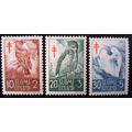 6053 Finlandia - Pássaros Silvestres Serie Yvert Nº 441/3