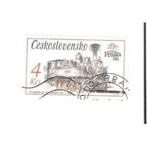 Lindo Selo Da Tchecoslováquia - Trem - Locomotiva !!!