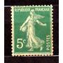 França 1906 / 1937 * Semeadeira * 5c Verde * .novo