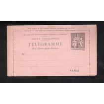 França-telegrama Com Porte Impresso-1fr.novo