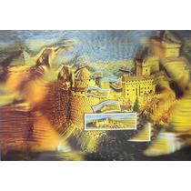 França 2000 Inteiro Postal Selo Sobre Selo / Castelos Lindo
