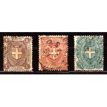 Itália 1896 * Brasão .da Casa Real .de Sabóia