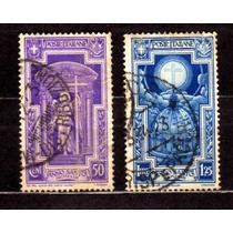 Itália 1933 * Ano Santo * Anjo * Cruz * Basílica São Pedro