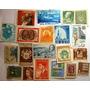 Selos Do Mundo Todo - Coleção Sortida - 20 Selos