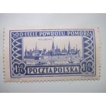 Selos Polonia - 500 Da Reconquista Da Pomerania - 1954