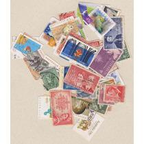 Austrália - 50 Selos Usados Sem Repetições