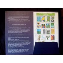Folder + Folha Xvi Copa Do Mundo - França/98 - Futebol