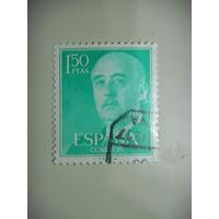 Selos Espanha - General Franco - Novos Valores - 1956