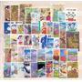 Pacote Com 50 Selos Comemorativos Diferentes Do Japão
