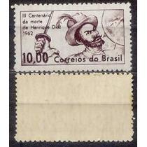 Brasil Selo Cent.henrique Dias Marmorizado 1962,novo.