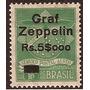 Zeppelin-brasil- Selo Z-6 - Novo-goma Origonal-sinal Charn.