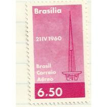 Selo Aéreo Brasília 21 Abril 1960 6,50 Ac2