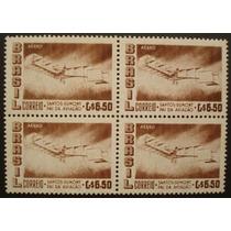 8712 Brasil Aéreo Marmorizado Quadra Selo N 83y Nn