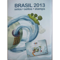 Coleção Anual De Selos Dos Correios Completa Do Ano 2013