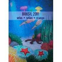 2011 - Coleção Anual Selos Correios Brasil