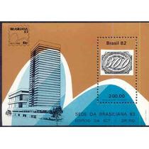 3604 Brasil - Bloco Nº 55 Brasiliana 83 1982 Novo