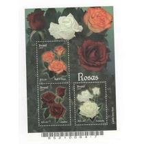 Jmarsch Selos Brasil 2007 Bloco 146 Flora Rosas Brasileiras