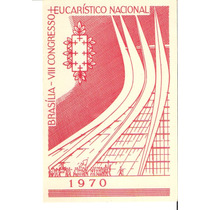 Lindo Bilhete Postal Rhm Bp-154 - 8. Congresso Eucarístico !