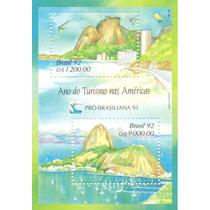 Bloco Brasil, Ano Do Turismo Nas Américas Pró- Brasiliana 93