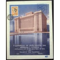 A9305 Brasil Folhinha Nº 11 Oficial Cbs Comem. União Postal