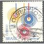 Selo Do Brasil -5 Ctvs. Com Carimbo Ourinhos