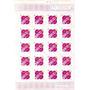 Selo Rosa De Ouro Marmorizado-folha Inteira-576y-35 Selos