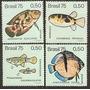 Série Peixes Brasileiros De Água-doce -mint-1975- C-887-890