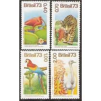 Série Flora E Fauna - Mint-1973- C-825-828