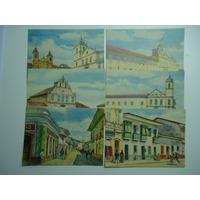 Postais Antigos De S Paulo Sec. 17-18 Retratos De Sp.