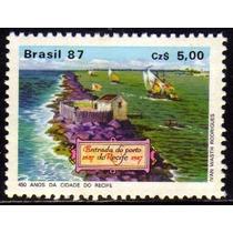 Brasil C 1565 Porto Do Recife 1987 Nnn
