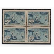 Raro Selo Postal Com Variedade Catalogada
