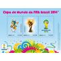 Bloco Selos Copa Do Mundo Brasil 2014 Esgotados