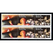 Brasil 1989 * Sextilha * Bicentenário Inconfidência Mineira