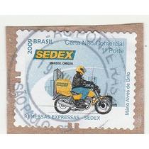 Selo Brasil 2006 - 1º Porte Carta Não Comercial - Sedex - Q8
