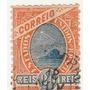 Selo Antigo - Brasil - Correio - 1908 - 20 Réis - Ab