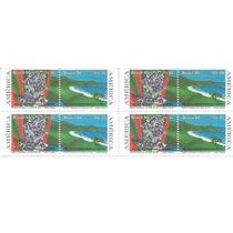 Qr275- Brasil- 01 Quadra Comemorativa De 1990