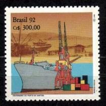 Brasil 1992 * 100.anos .do Porto .de Santos