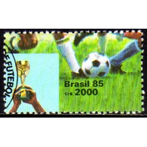 Brasil C 1468 Copa Do Mundo De Futebol 1985 U
