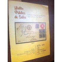 Catalogo Leilão Publico Selos 1996 Ilustrado Com Valores