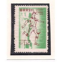 Brasil - Selo Impressão Em Papel Marmorizado - 1959!!!