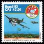 Brasil 1993 * 50anos .do 1º Grupo Aviação .de Caça