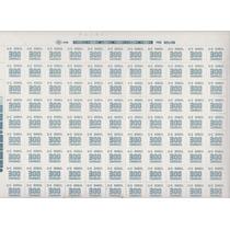 Selos Em Folha Inteira - C 638 Rhm