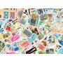 Lote Com 500 Selos Comemorativos Sem Carimbo - Brasil