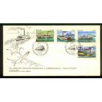 Fdc 379 - 150 Anos Ligação Marítima Empresarial Rio/niterói